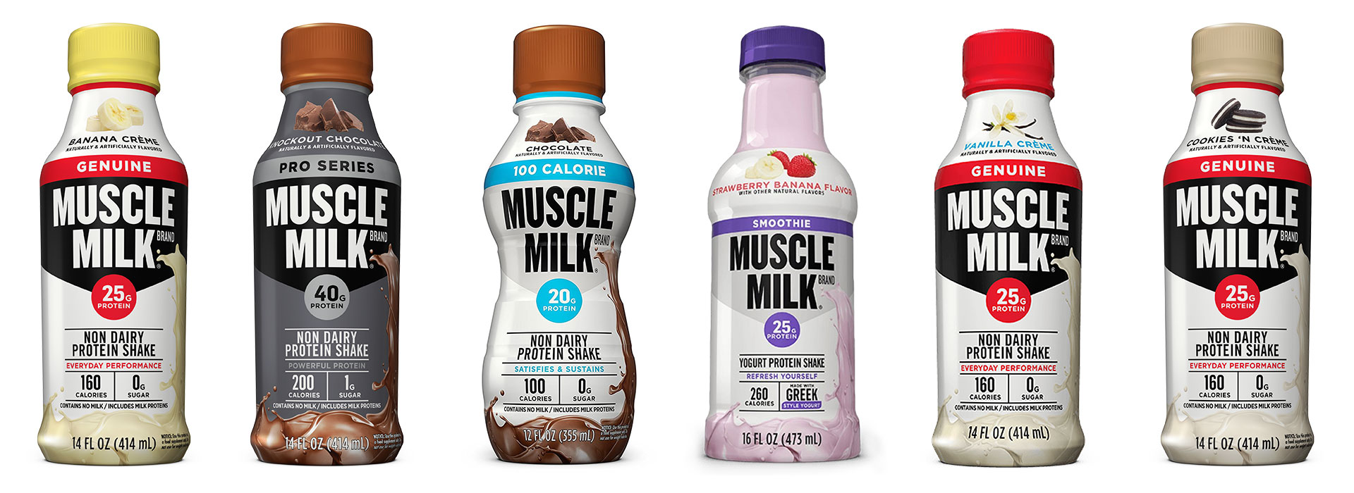 Muscle milk for breakfast