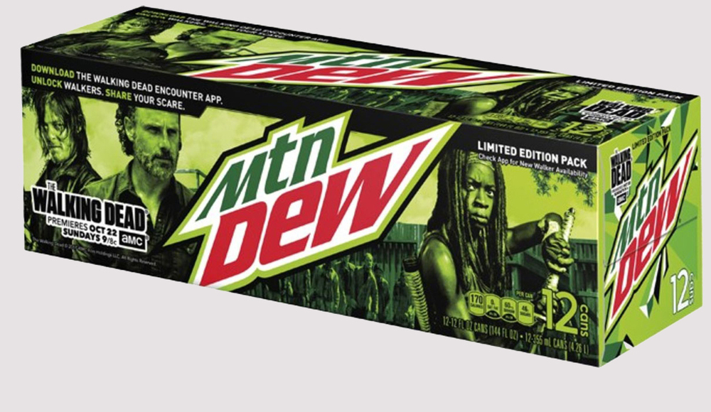 Mountain Dew Walking Dead
